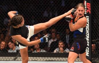 """Julianna Peña dá recado a Ronda: """"Se ela é o Mike Tyson, eu sou o Holyfield"""""""