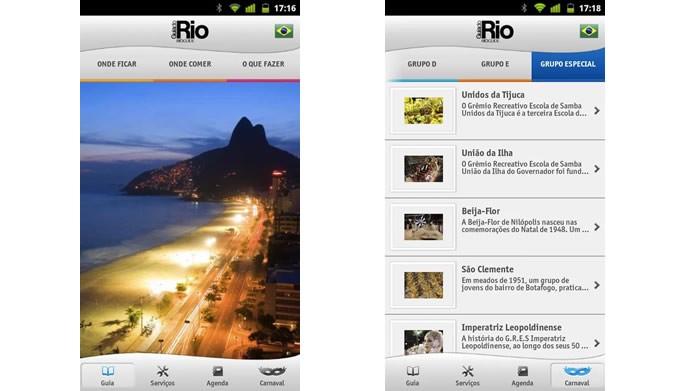 Baixe o Rio Guia Oficial para ter a agenda completa sobre os eventos no Rio de Janeiro (Foto: Divulgação/Google Play)