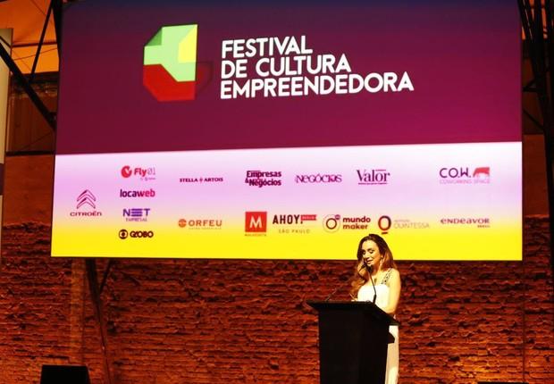 Abertura do Festival de Cultura Empreendedora (Foto: Ricardo Cardoso/Editora Globo)