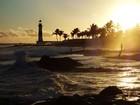 G1 sugere locais para apreciar  o pôr do sol (Egi Santana/G1)