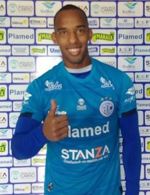 Reynaldo Moura, goleiro, Confiança (Foto: Divulgação ADC)