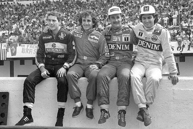 Os campeões de 1986 (Foto: Divulgação)