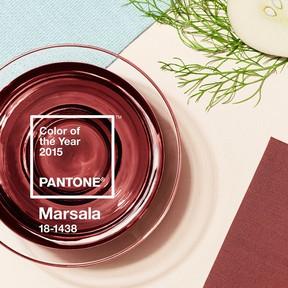 Marsala, cor da Pantone para 2015 (Foto: Reprodução/Instagram)