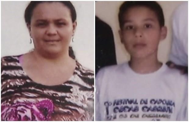 Empresária e filho são encontrados mortos em casa de Santa Helena de Goiás (Foto: Reprodução/ TV Anhanguera)