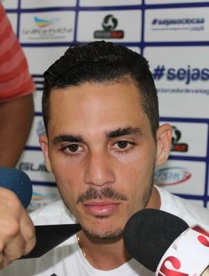 Elyeser volante do CSA (Foto: Caio Lorena / GloboEsporte.com)