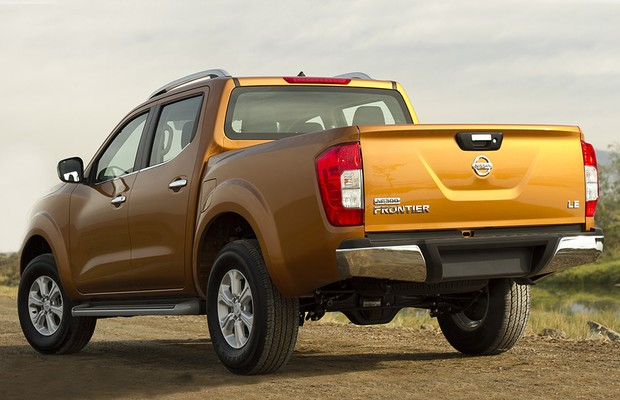 Nissan Frontier NP 300 2016 (Foto: Nissan)