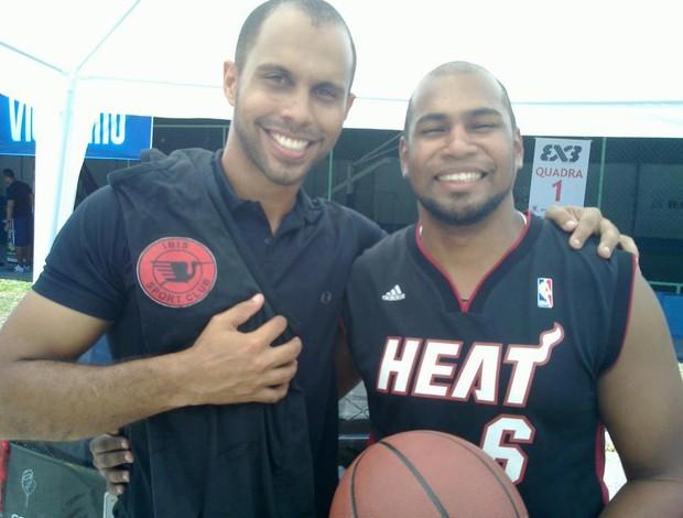 Íbis Basquete e Miami Heat: parceria possível? (Foto: Divulgação/Íbis)