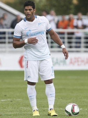 Hulk Zenit Ural (Foto: Divulgação/Site oficial do Zenit)