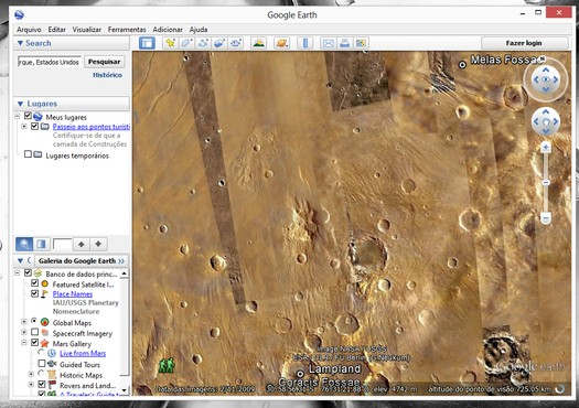 screenshot de Google Earth