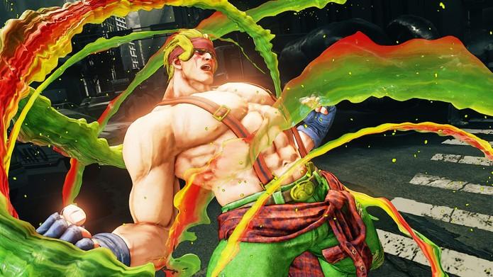 Street Fighter 5: Alex é o primeiro personagem DLC e está liberado para todos por tempo limitado (Divulgação/Capcom)