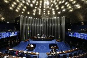 Plenário do Senado Federal (Foto: Igo Estrela / Getty Images)