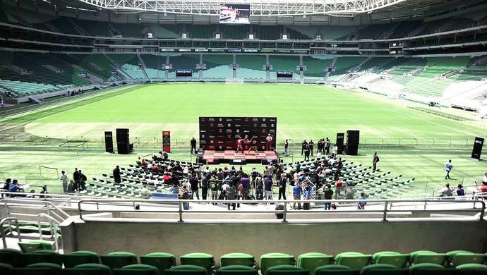 Treino UFC Arena Palmeiras (Foto: Marcos Ribolli)
