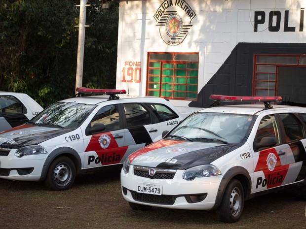 Parque do Peão conta com base da Polícia Militar e delegacia (Foto: Mateus Rigola/G1)