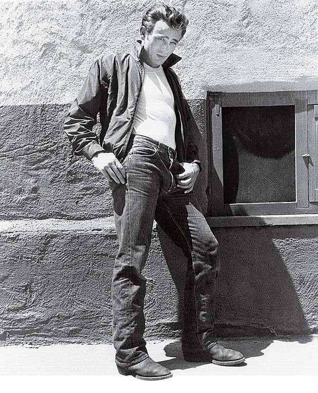 REBEL WITHOUT A CAUSE, James Dean, 1955 (Foto: Divulgação)