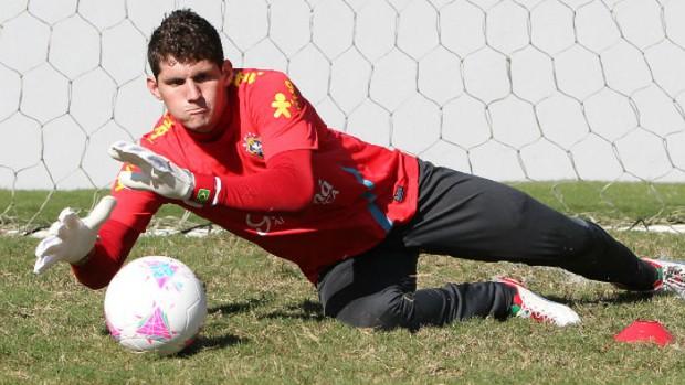 Rafael Seleção Santos (Foto: Rafael Ribeiro/Divulgação CBF)