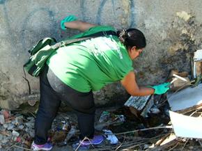 Dengue preocupa moradores de Resende, RJ (Foto: Reprodução/TV Rio Sul)