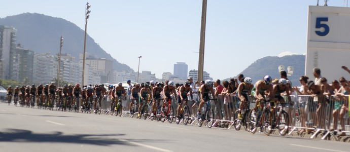 Ciclismo evento-teste triatlo olimpíadas rio 2016 (Foto: Cléber Akamine)