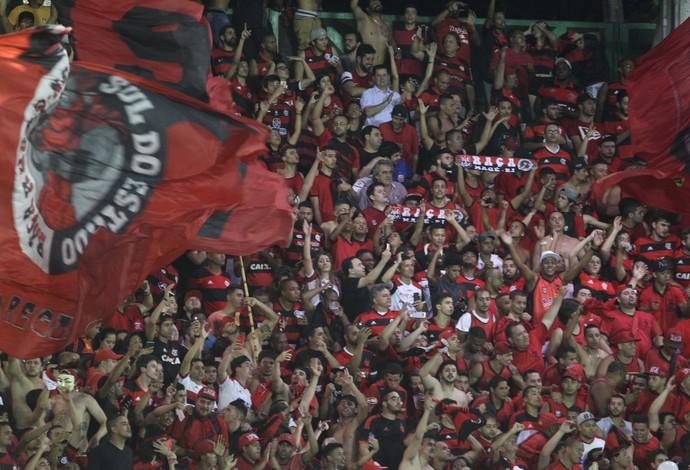 Torcida Flamengo Volta Redonda (Foto: Gilvan de Souza/Flamengo)