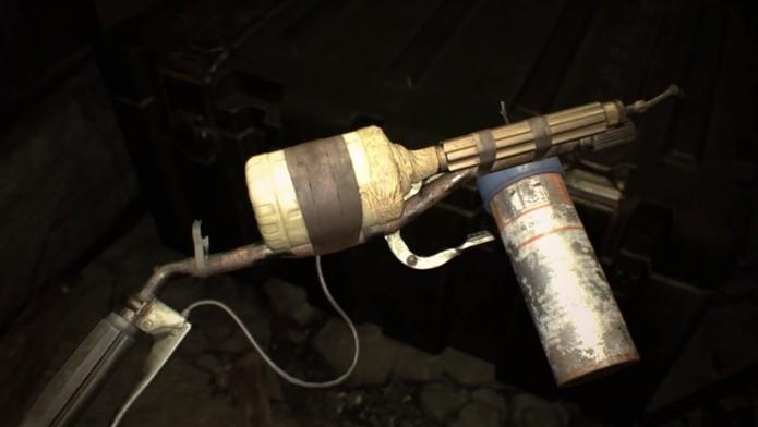 Queimador é particularmente eficaz contra os insetos de Resident Evil 7 (Foto: Reprodução/Felipe Demartini)