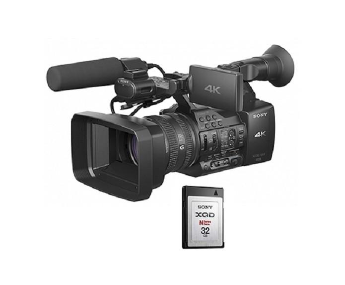 Câmera PXW-Z100 é compatível com os cartões XQD (Foto: Divulgação/Sony)