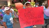 Caminhada marca dia mundial de conscientização da violência contra o idoso