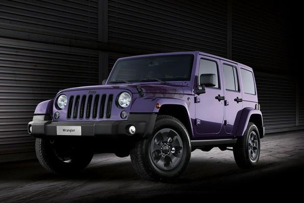 Jeep lança edição limitada do Wrangler com pintura roxa - AUTO ... 8ed0968ee2