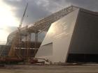 Cinco guindastes de obra do estádio do Corinthians são liberados