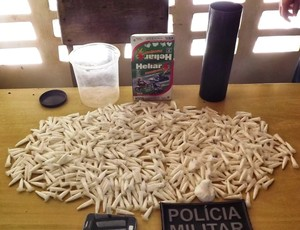 Pinos cocaína futsal acre (Foto: Gilberto Monteiro / Arquivo Pessoal)