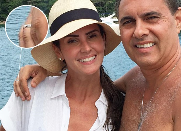 Lisandra Souto fica noiva de Gustavo Fernandes (Foto: Instagram / Reprodução)