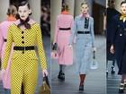 Miu Miu apresenta desfile divertido e com toques de cor na Semana de Moda de Paris