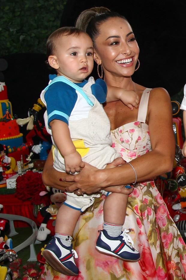 Sabrina Sato no Aniversário do sobrinho (Foto: Manuela Scarpa e Marcos Ribas/ Photo Rio News)