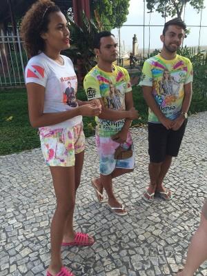 Fãs da banda Calypso lamentam separação do casal Joelma e Chimbinha (Foto: Ana Paula Gama / G1)