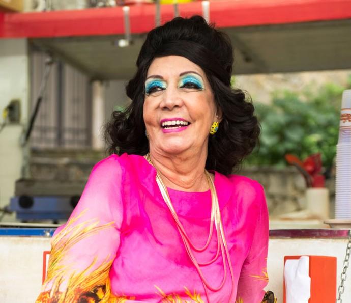 Luz Divina é interpretada por Eliana Rocha (Foto: Globo/ João Miguel Júnior)