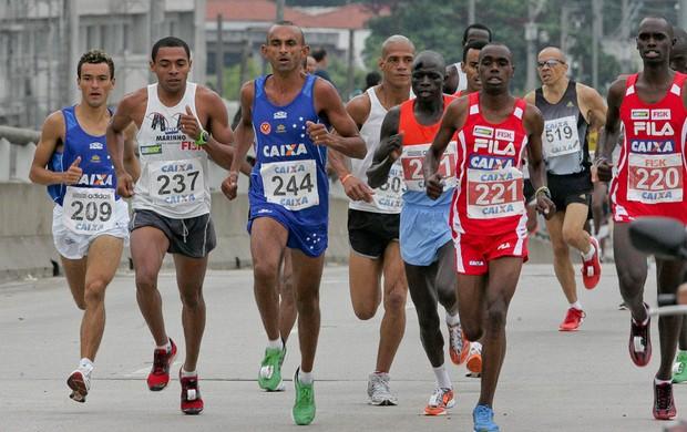 solonei da silva Maratona Internacional de São Paulo (Foto: Mário Ângelo / Agência Estado)