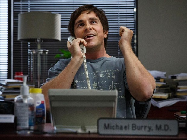 Christian Bale em 'A grande aposta' (Foto: Divulgação)
