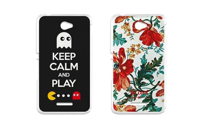 Capas estampadas são ideais para personalizar o Xperia E4 (Foto: Divulgação/BeCool)