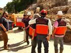 Blocos de rochas são implodidos em local de tragédia em Petrópolis, no RJ