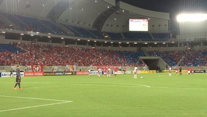 Arena das Dunas - América-RN x Boa Esporte (Foto: Augusto Gomes/GloboEsporte.com)