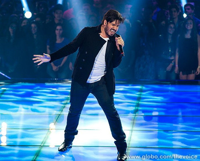Rodrigo Castellani The Voice (Foto: Isabella Pinheiro / Gshow)