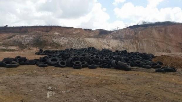 Milhares de pneus inservíveis foram recolhidos em todos os municípios de Alagoas  (Foto: Divulgação/Semarh)