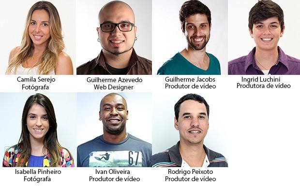 Equipe_foto_design_video (Foto: Foto: Gshow)