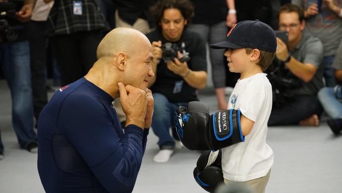 Treino aberto Junior Cigano UFC 211 (Foto: Evelyn Rodrigues)