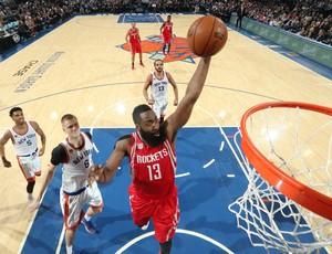 James Harden castiga o New York Knicks no confronto desta quarta-feira