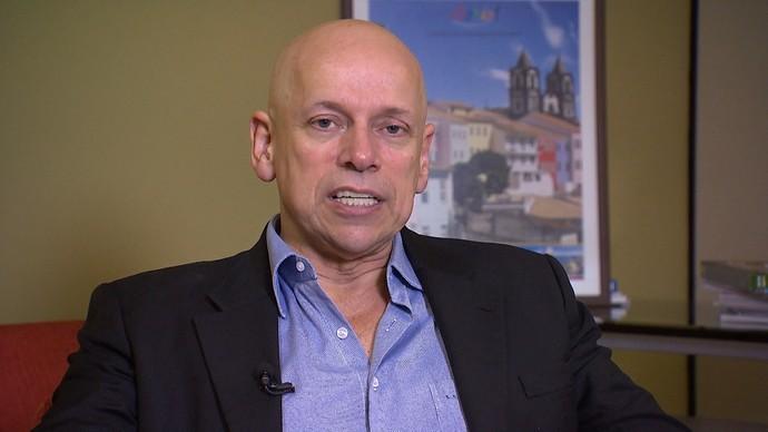 Filósofo Leandro Karnal fala sobre educação, administração do tempo e redes sociais (Foto: TV Bahia)