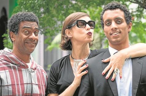 Maria Paula, Joaquim Couto e Hélio de La Peña (Foto: Paulo de Barros)