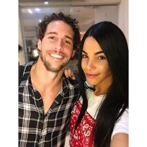 Flávio Canto e Vitória Guarizo (Foto: Arquivo pessoal)