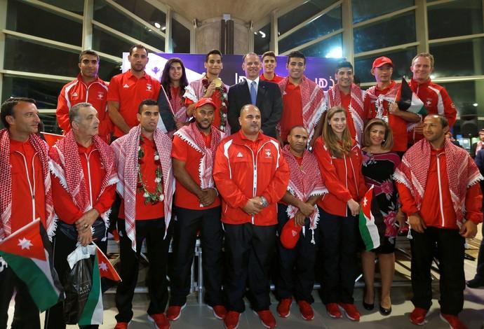 Ahmad Abughaush Jordânia Taekwondo (Foto: Getty Images)