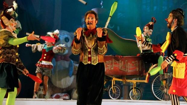 'Realizei um sonho', diz malabarista do Natal Luz (Cleiton Thiele/SerraPress)