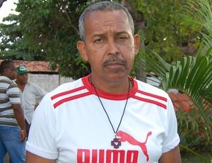 Laurindo Bezerra, torcedor do Botafogo-PB (Foto: Lucas Barros / Globoesporte.com/pb)