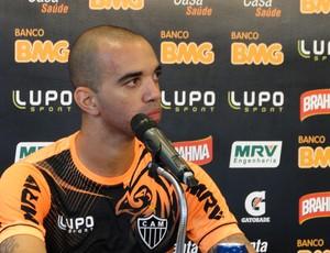 Diego Tardelli Atlético-MG coletiva (Foto: Maurício Paulucci)